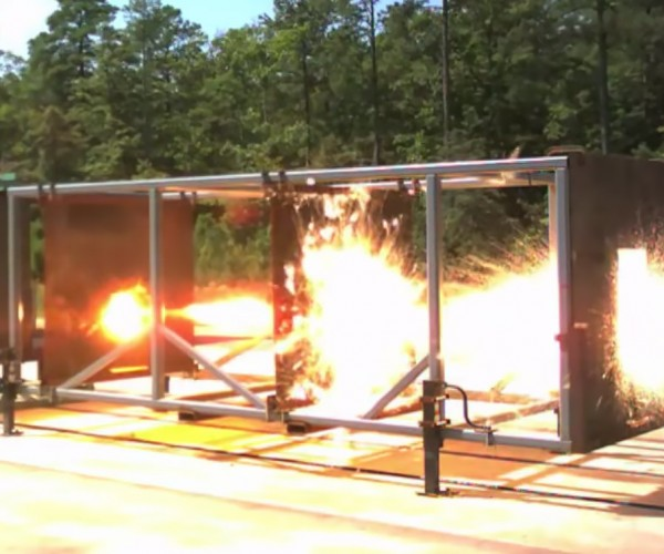 Navy Railgun Annihilates Steel Plates in Live Fire Test