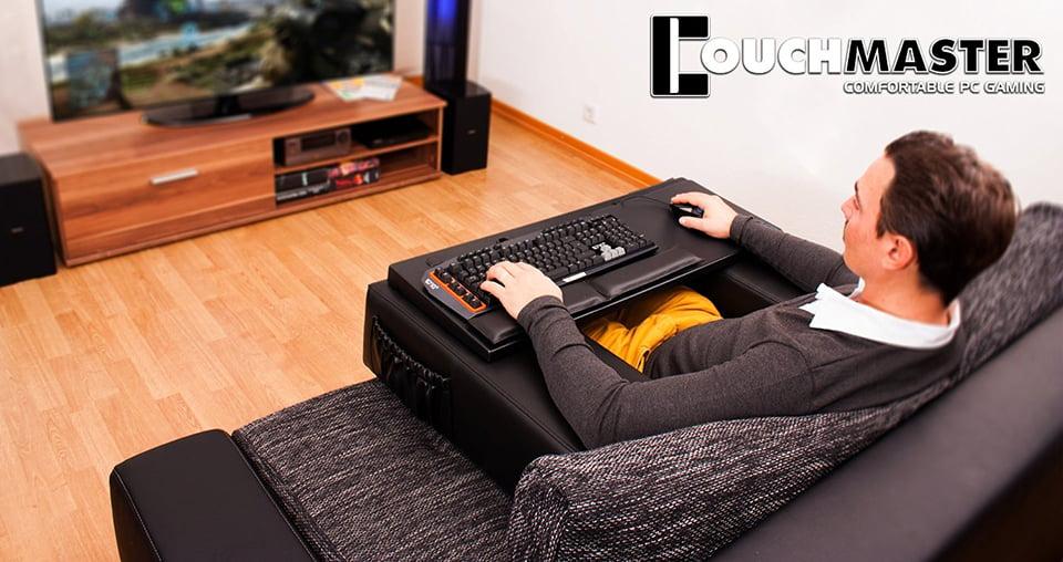 Couchmaster Lap Desk Reverse Sofa Technabob