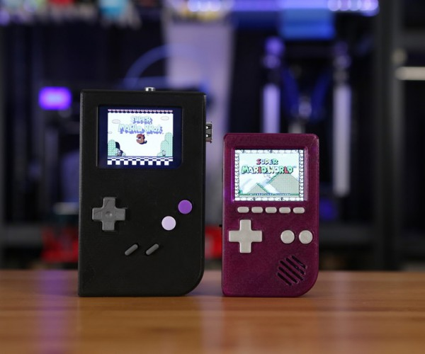 3D Printed Game Boy Pocket Case for Raspberry Pi: Pocket PiGRRL