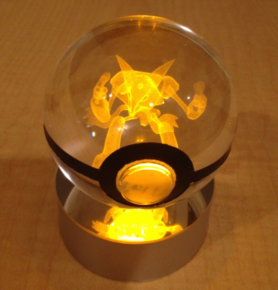 These Crystal Poke Balls Have Glowing Pok 233 Mon Inside