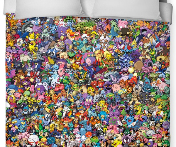 Pokémon Duvet Cover: Zzzzzzzzs, Gotta Catch  'Em All