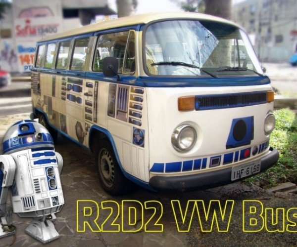 R2-D2 VW Bus: The Van You're Looking for