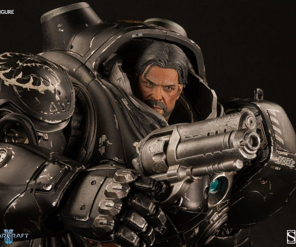 Starcraft Jim Raynor Action Figure is 16-inches of Articulated Awesome