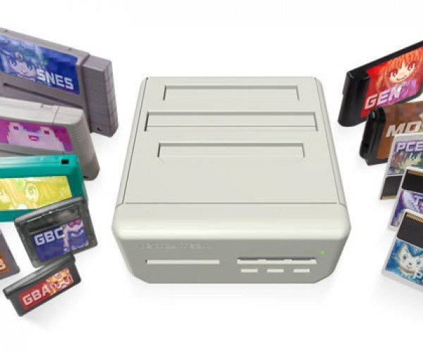 Retro Freak Multi Cartridge Console Also Rips Games: Emulator's Wet Dream