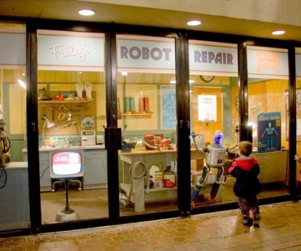 Kickstart a Fictional Robot Repair Shop in Pittsburgh Airport