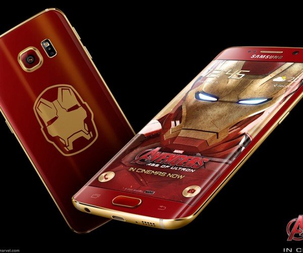 Samsung Announces the Iron Man Edition Galaxy S6 Edge