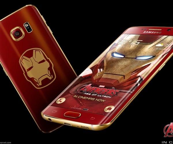 Samsung Announces the Iron Man Edition Galaxy S6 Edge