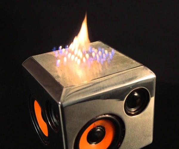 Sound Torch Bluetooth Speaker Spews Flames: Immortan Joe Approves
