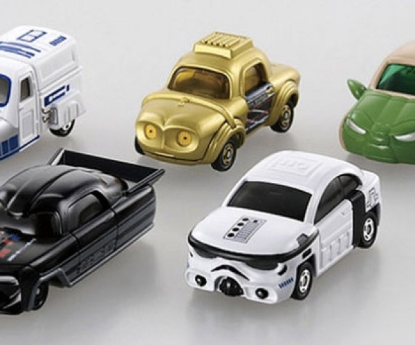 Star Wars Die Cast Cars are Wonderfully Weird