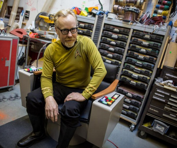 Adam Savage Builds a Star Trek Captains Chair