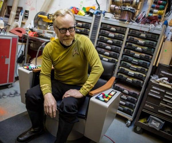 Adam Savage Builds a Star Trek Captains Chair