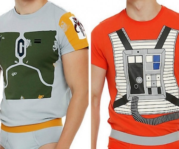 Adult Luke Skywalker and Boba Fett Star Wars Underoos
