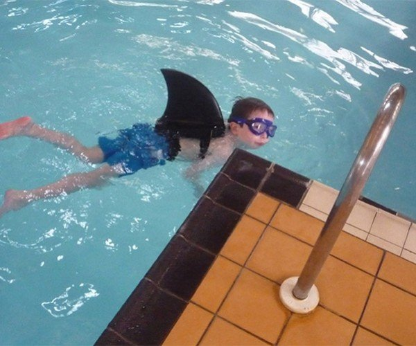 Swimfin Turns Your Kid into a Shark
