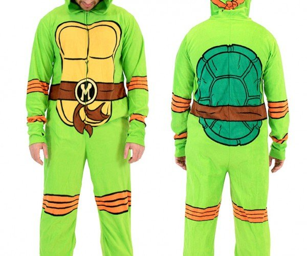 TMNT Onesie Pajamas: Heroes in a Polyester Shell