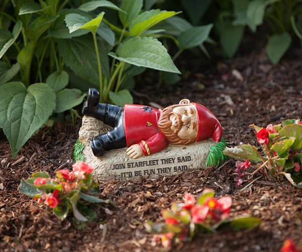 Star Trek Garden Gnomes: To Boldly Gnome