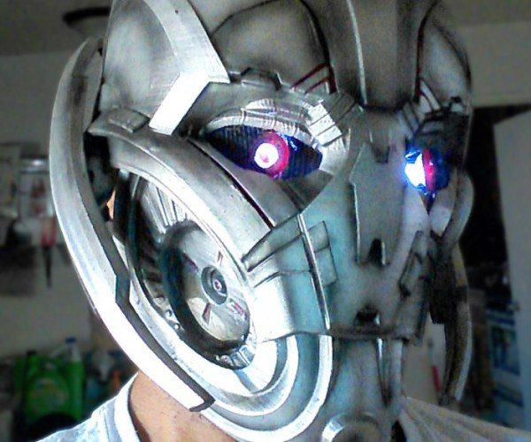 Fan-made Ultron Mask: There Is No Nose on Me