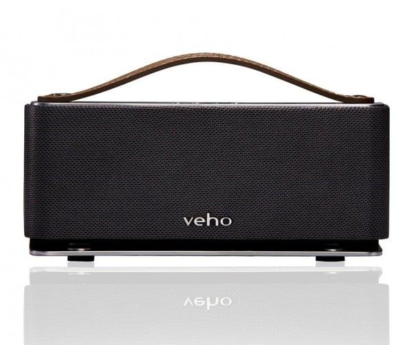 Save 63% on the Veho Retro Leather Bluetooth Speaker