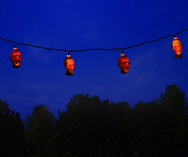 Walking Dead Zombie String Lights: Hang up Your Dead