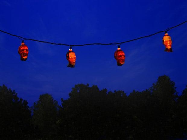 Walking Dead Zombie String Lights: Hang up Your Dead - Technabob