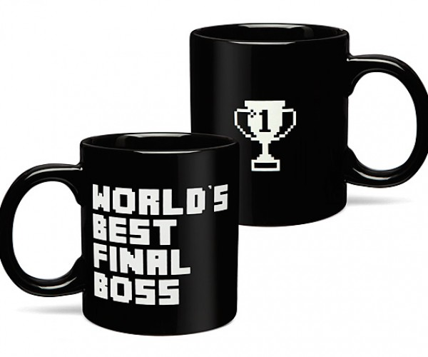 World's Best Final Boss Mug: Kiss-ass Quest Item