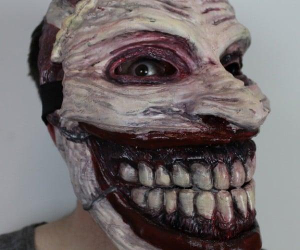 3D Printed Joker Mask: Why so Hideous?