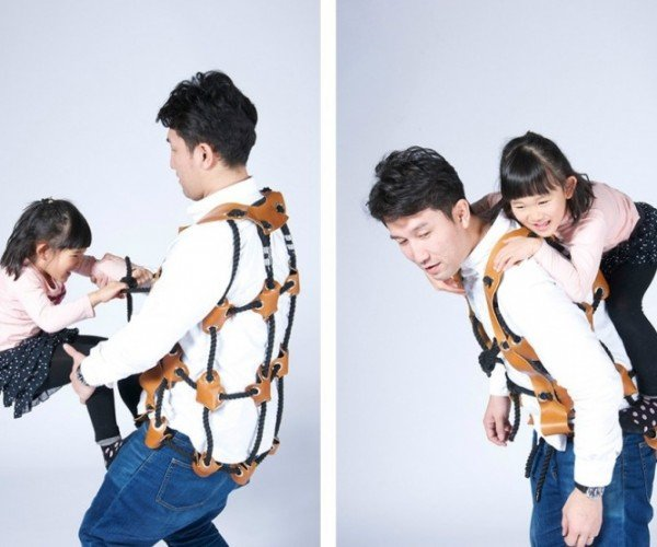 The Athletitti Vest Turns You into a Playground for Your Child