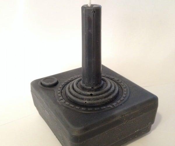 Atari 2600 Joystick Candle: Coldbreaker