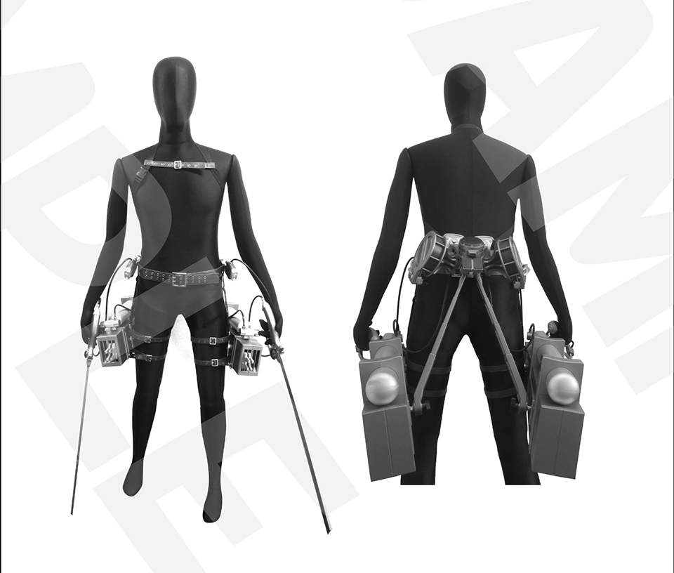 Attack on Titan Official 1:1 3D Maneuver Gear Replica Will ...