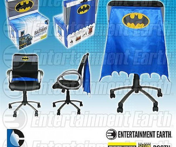 Batman Chair Cape: Quick Robin, to the Bat-Desk!