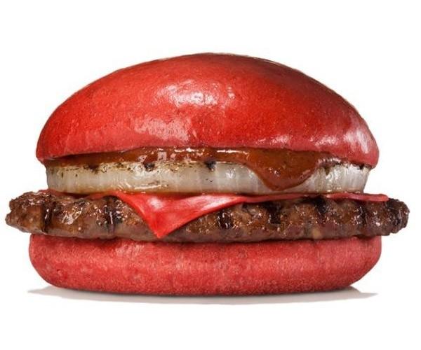 Angry Red Samurai Burgers Land at Burger King Japan