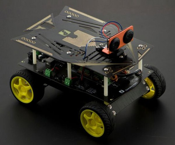 Deal: Cherokey 4WD Basic Arduino Robotics Kit