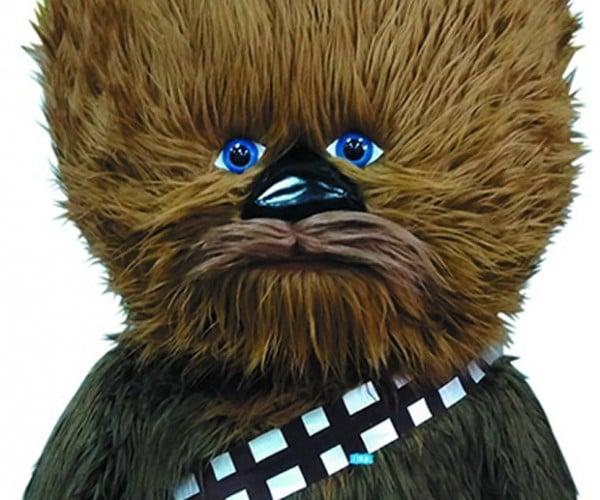 This Four Foot-Tall Chewbacca Plush Talks