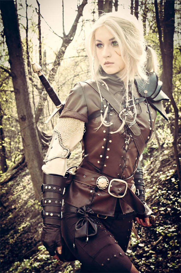 the witcher ciri cosplay makes me want to play the game. Black Bedroom Furniture Sets. Home Design Ideas