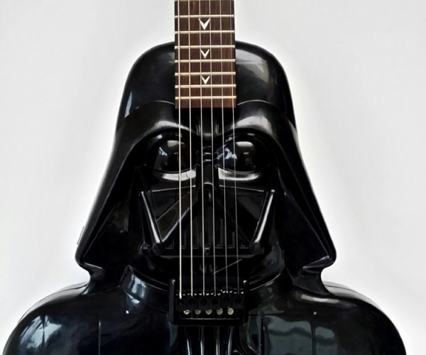 Darth Vader Electric Guitar: Dad Rock