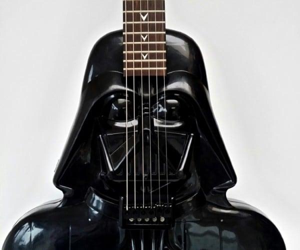Darth Vader Electric Guitar: Dad Rock