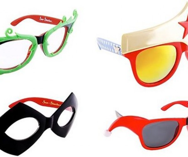 DC Hero and Villain Sunglasses Protect Your Real Identity