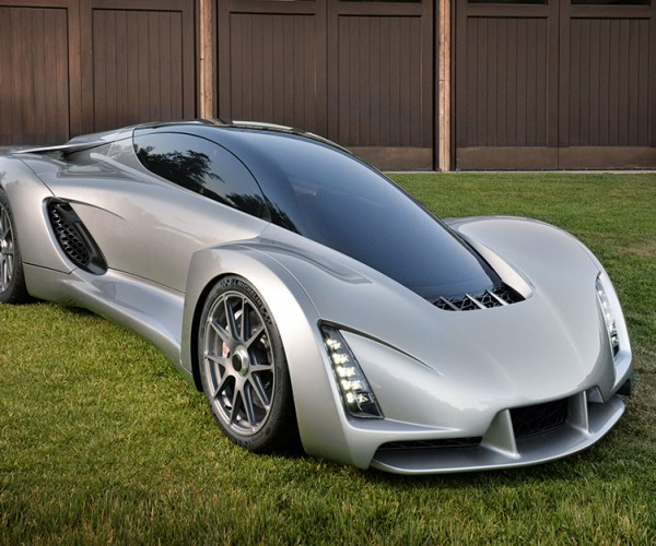 DM Blade Supercar has 3D Printed Chassis: The Arduino of Cars