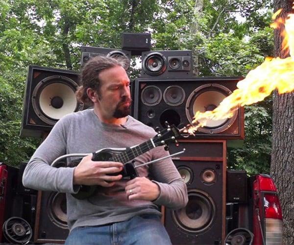 Mad Max: Fury Road Flamethrower Ukulele