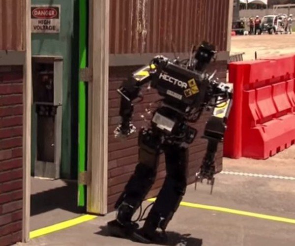 Watching Robots Falling Down Is the Best Thing You'll See Today
