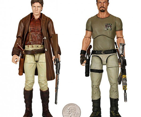 Firefly Legacy Series Action Figures Include Tiny Dinosaurs