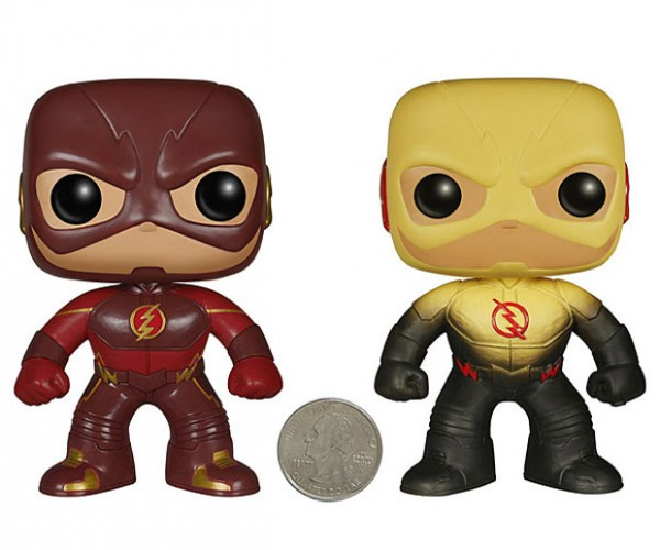 Funko Pop Flash Vinyl Action Figures are Spoilers