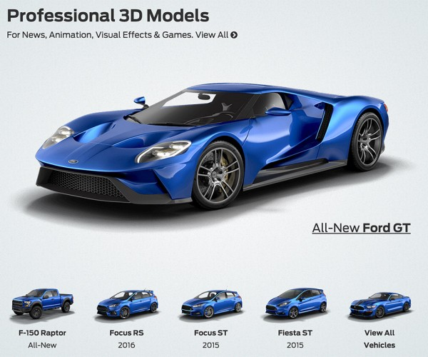 The Ford D Store Lets Customers Download Digital Files To D Print Models Of Ford Vehicles At Home