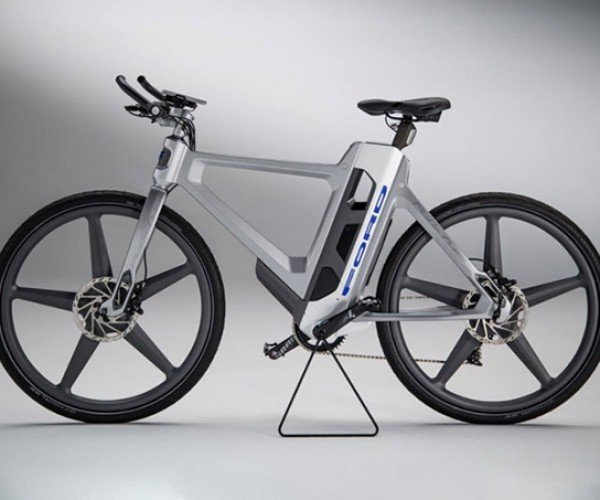 Ford's Smartbike Can Warn You Before You Hit a Pothole