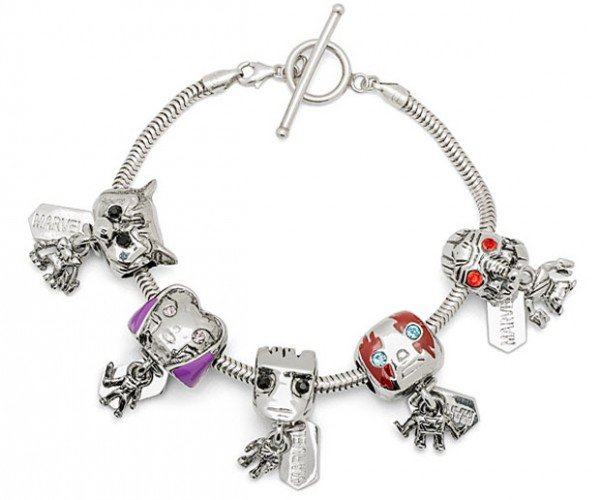 Guardians of the Galaxy Charm Bracelet: Hooked on Your Wrist
