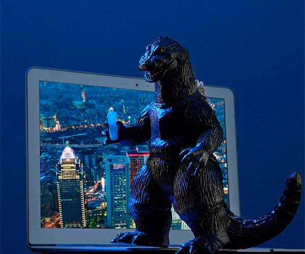 Sofubi Godzilla Action Figure is Straight out of the '60s