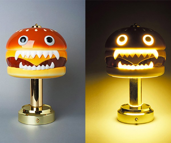 Nightmare-inducing Hamburger Lamp Gets Revenge on People for Eating Burgers