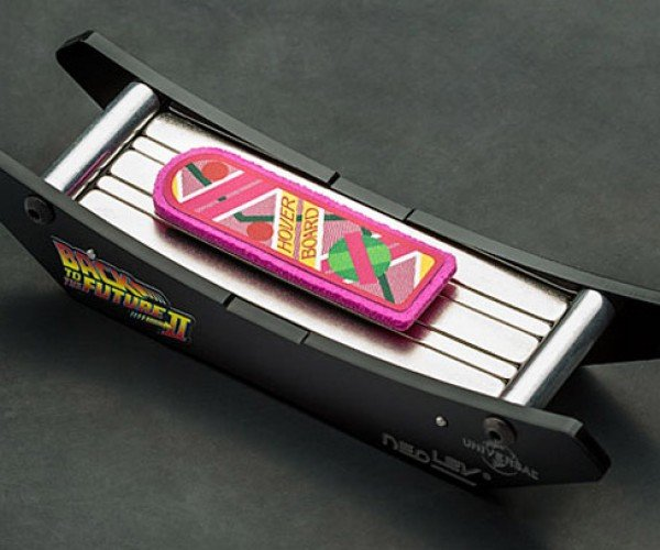 Back to the Future Hoverboard Lands on your Desk
