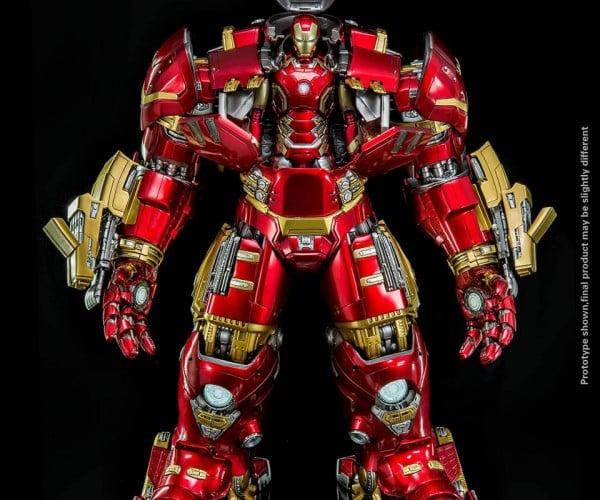 King Arts 1:9 Hulkbuster Has Room for an Iron Man Action Figure: Iron Matryoshka