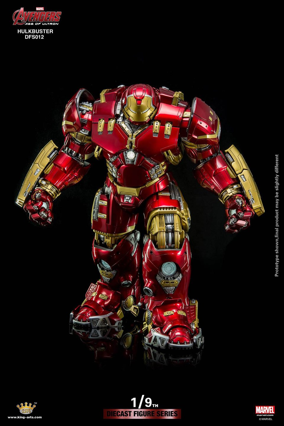 I Is For Iron ~ King arts hulkbuster has room for an iron man action