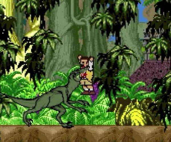8 Bit Cinema Jurassic Park: Game on, Dinosaurs!